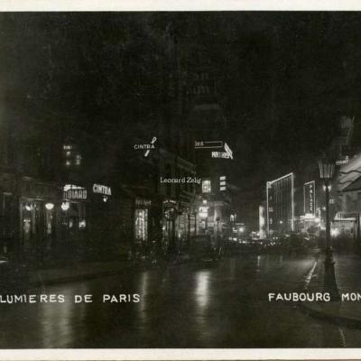 M.Toussaint - Les Lumières de Paris