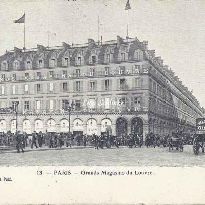 FAY Ch. - 13 - Grands Magasins du Louvre