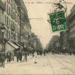 FB 327 - PARIS - Entrée de la rue de Flandre