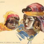 Femme et enfant (Sud Algérien)