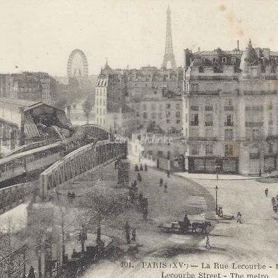 FF 101 - La Rue Lecourbe - Le Métro