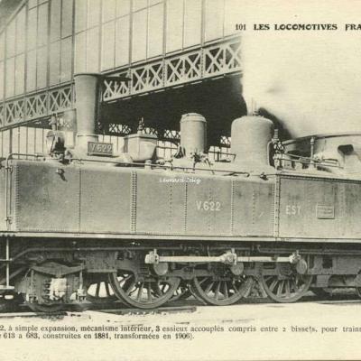 FF 101 - Les Locomotives Françaises (Est)