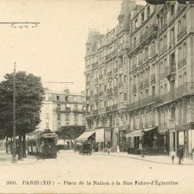 FF 1010 - PARIS - Place de la Nation à la Rue Fabre-d'Eglantine