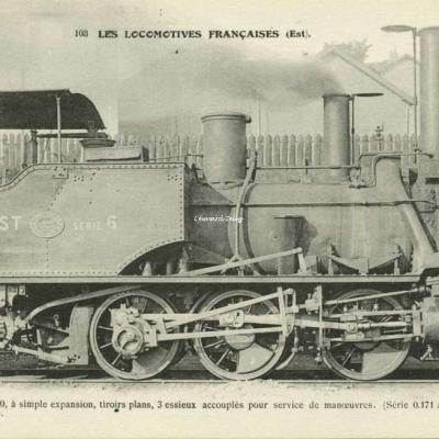 FF 103 - Les Locomotives Françaises (Etat)