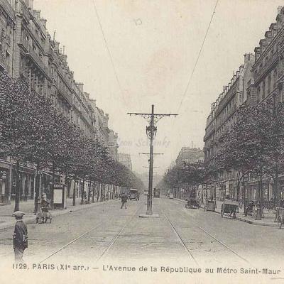 FF 1129 - L'Avenue de la République au Métro St-Maur