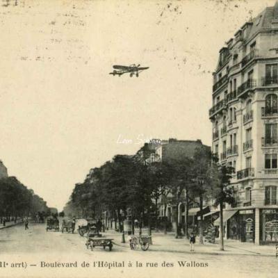 FF 1136 - Boulevard de l'Hôpital à le rue des Wallons