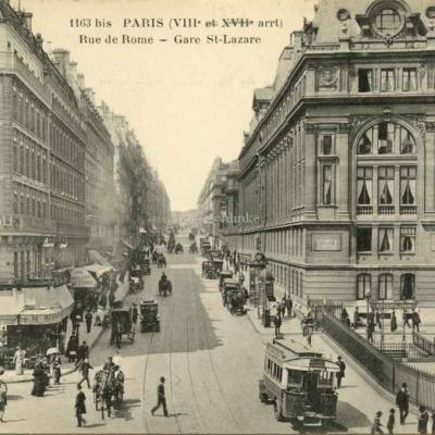 FF 1163 bis - Rue de Rome - Gare St-Lazare