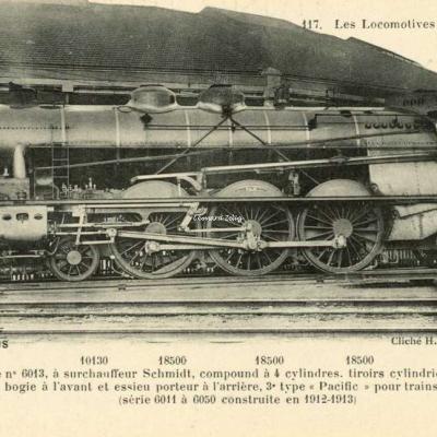 FF 117 - Les Locomotives Françaises (P.-L.-M.)