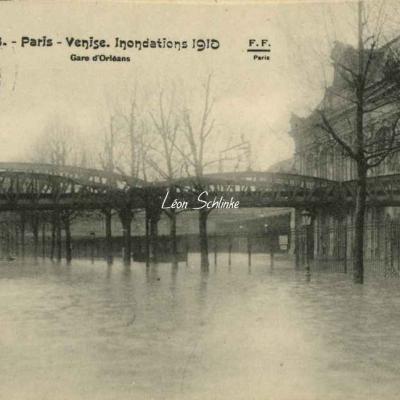 FF 118 - Inondations à la Gare d'Orléans