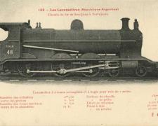 FF 122 - Les Locomotives (République Argentine)