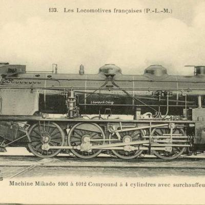 FF 133 - Les Locomotives Françaises (P.-L.-M.)
