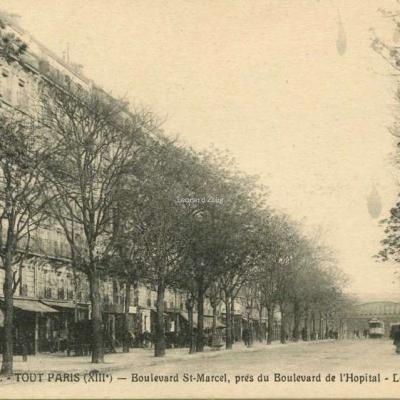 FF 1331 - TOUT PARIS (XIII°) - Boulevard St-Marcel - Le Métro aérien