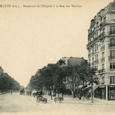 FF 1337 - Boulevard de l'Hôpital à la Rue des Wallons