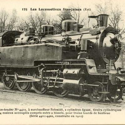 FF 135 - Les Locomotives Françaises (Est)