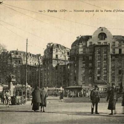 FF 1407 - Nouvel aspect de la Porte d'Orléans