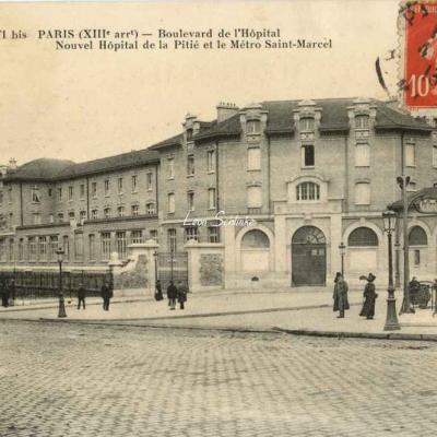FF 1471 bis - Boulevard de l'Hôpital - Le Metro St-Marcel
