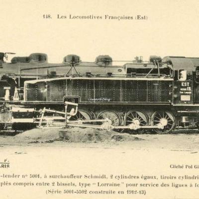 FF 148 - Les Locomotives Françaises (Est)