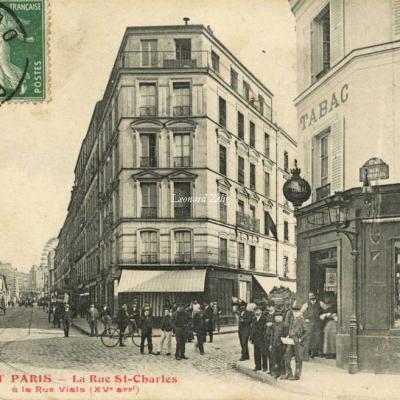 FF 1482 - TOUT PARIS - La Rue St-Charles à la Rue Viala