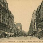 FF 1516 - PARIS (XV°) - Rue Lecourbe - Le Métro aérien