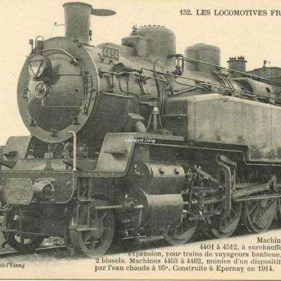 FF 152 - Les Locomotives Françaises (Est)