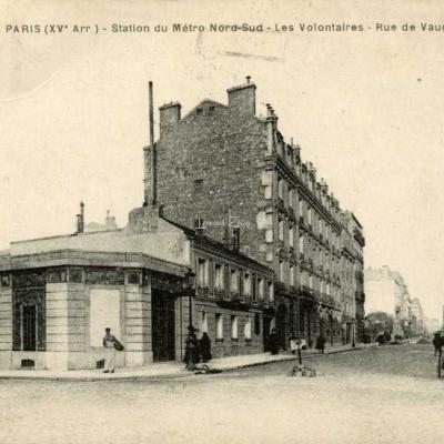 FF 1533 - Station du Métro Nord-Sud - Les Volontaires