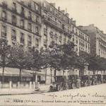 FF 1566 - Boulevard Lefebvre, pris de la Porte de Versailles
