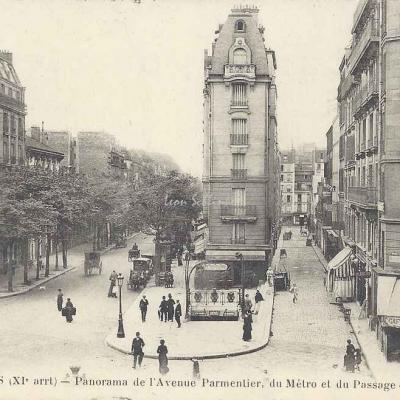 FF 1582 - Panorama de l'Avenue Parmentier
