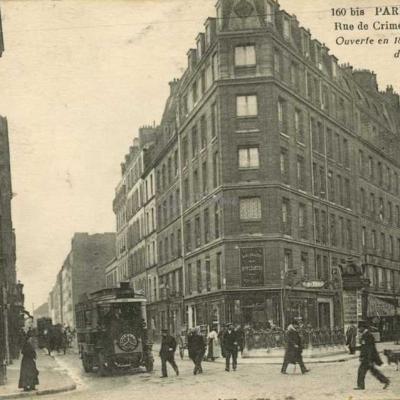 FF 160bis - Rue de Crimée et Rue Mathis