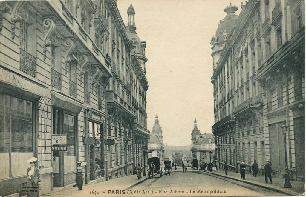 FF 1654 Rue Alboni - Le Métropolitain