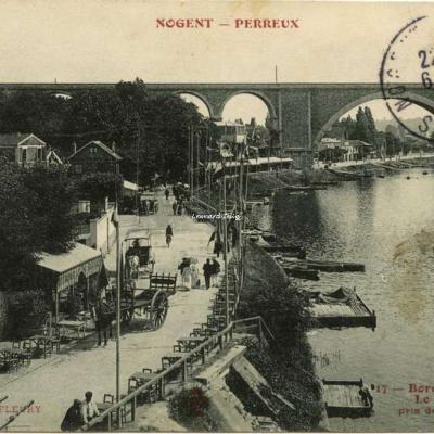 FF 17 - NOGENT-PERREUX - Le Viaduc pris du Pont-Neuf
