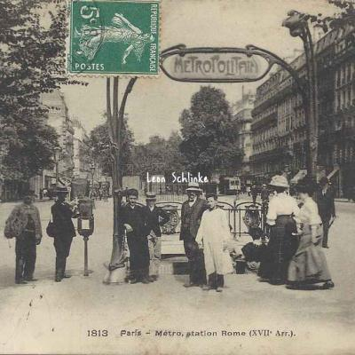 FF 1813 - Métro, Station Rome