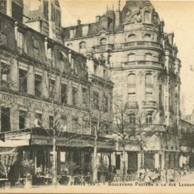 FF 182 - PARIS (XV°)  - Boulevard Pasteur à la rue Lecourbe, ligne du Métro