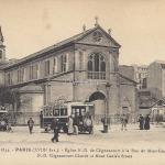 FF 1834 - Eglise N.-D. de Clignancourt à la rue du Mont-Cenis