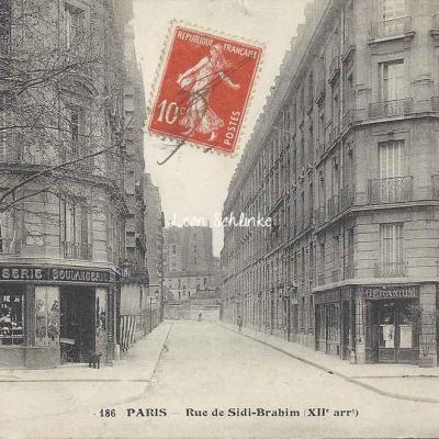 FF 186 - Rue de Sidi-Brahim