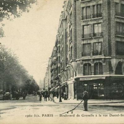 FF 1960 bis - PARIS - Boulevard de Grenelle à la rue Daniel-Stern