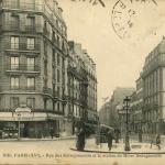 FF 2016 - PARIS (XV°) - Rue des Entrepreneurs et la station du Métro Beaugrenelle