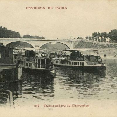 FF 216 - ENVIRONS DE PARIS - Charenton le Pont - Débarcadère de Charenton