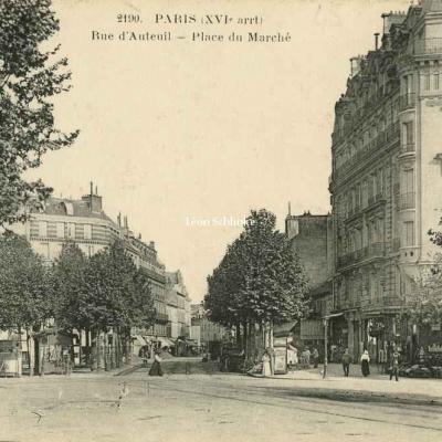 FF 2190 - Rue d'Auteuil - Place du Marché