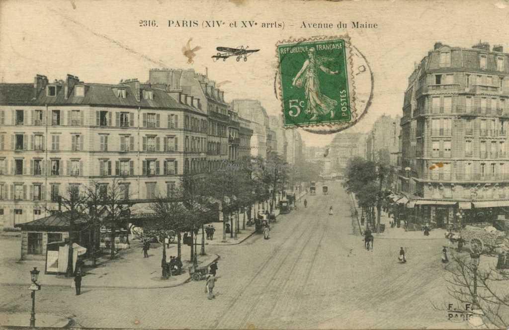 Ff 2316 avenue du maine for Garage avenue du maine