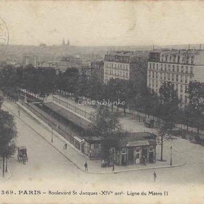 FF 2369 - Boulevard St-Jacques - Ligne du Metro II