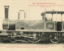 FF 248 - Les Locomotives (Belgique)