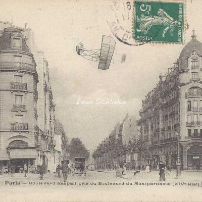FF 2642 - Boulevard Raspail pris du Boulevard Montparnasse