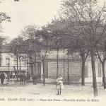 FF 2958 - Place des fêtes - Nouvelle Station du Métro
