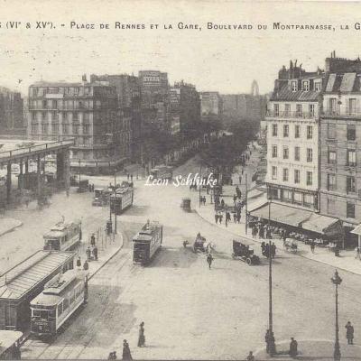 FF 297 - Place de Rennes et la Gare