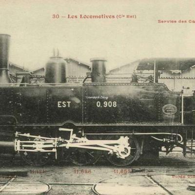 FF 30 - Les Locomotives (Cie Est)