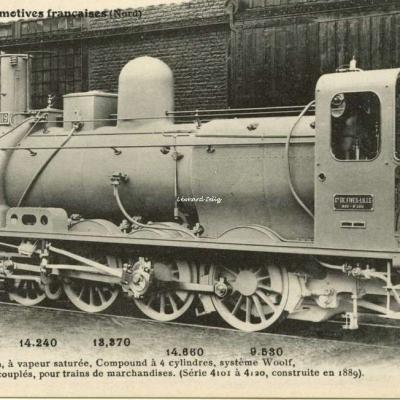 FF 30 - Les Locomotives Françaises (Nord)