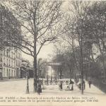 FF 3032 - Rue Botzaris et nouvelle Station du Métro