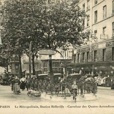 FF 3058 - Le Métropolitain, Station Belleville