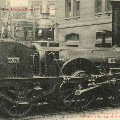 FF 31 - Les Locomotives (Cie de l'Ouest)