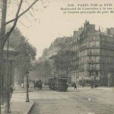 FF 3130 - Boulevard de Courcelles à la rue de Prony